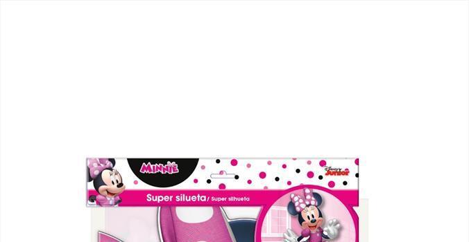 Súper silueta Minnie Disney