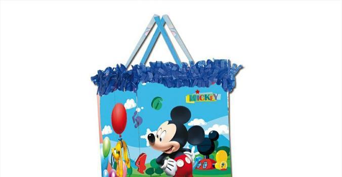 Piñata viñeta+ antifaz Mickey