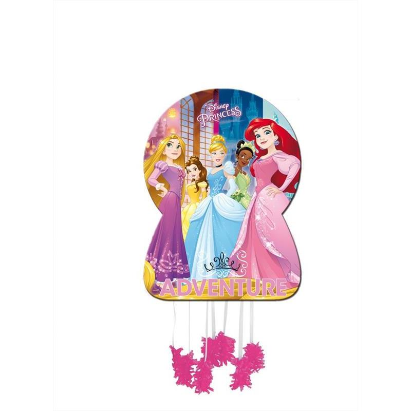 Piñata silueta Princess Adventure Disney